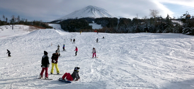 Ciao Ontake snow resort in Japanese Alps