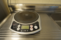 Villa 1 induction hotplate